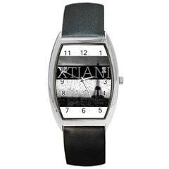 Xtianiparis Tonneau Leather Watch