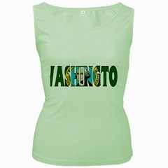 Washington Womens  Tank Top (green)