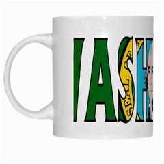 Washington White Coffee Mug
