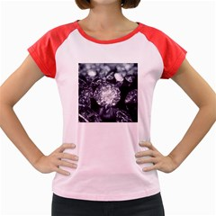 15661082 Shiny Diamonds Background Women s Cap Sleeve T-Shirt (Colored)