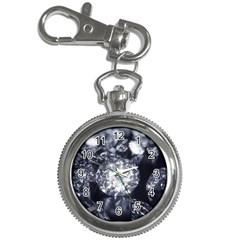 15661082 Shiny Diamonds Background Key Chain & Watch