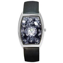 15661082 Shiny Diamonds Background Tonneau Leather Watch