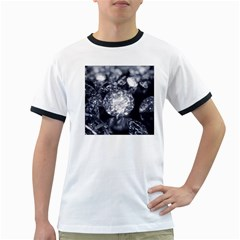 15661082 Shiny Diamonds Background Mens' Ringer T-shirt