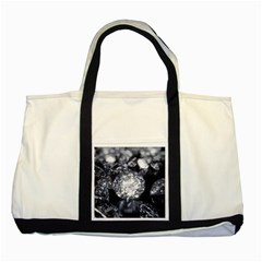 15661082 Shiny Diamonds Background Two Toned Tote Bag