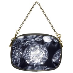 15661082 Shiny Diamonds Background Chain Purse (Two Side)