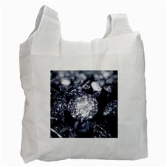 15661082 Shiny Diamonds Background Recycle Bag (One Side)