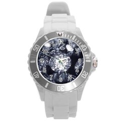 15661082 Shiny Diamonds Background Plastic Sport Watch (Large)