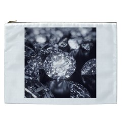 15661082 Shiny Diamonds Background Cosmetic Bag (XXL)
