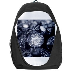 15661082 Shiny Diamonds Background Backpack Bag