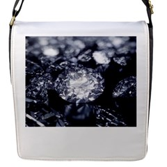 15661082 Shiny Diamonds Background Removable Flap Cover (small)