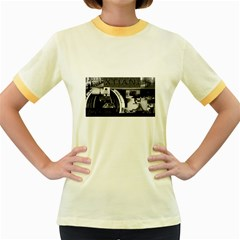 Xtianilogo Womens  Ringer T-shirt (Colored)