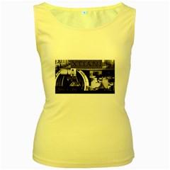 Xtianilogo Womens  Tank Top (Yellow)