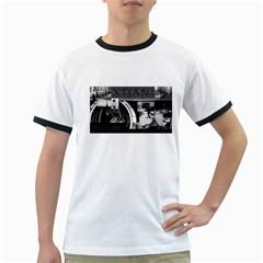 Xtianilogo Mens' Ringer T-shirt