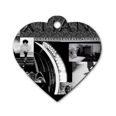 Xtianilogo Dog Tag Heart (One Sided)