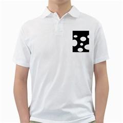 White23 Mens  Polo Shirt (White)