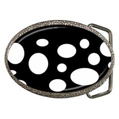 White23 Belt Buckle (oval)