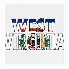West Va Glasses Cloth (Medium)