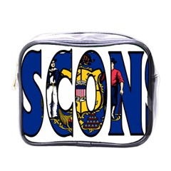 Wisconsin Mini Travel Toiletry Bag (One Side)