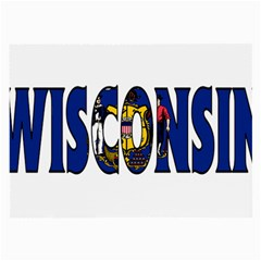 Wisconsin Glasses Cloth (Large)