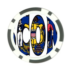Wisconsin Poker Chip 10 Pack