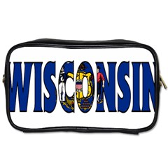 Wisconsin Travel Toiletry Bag (One Side)