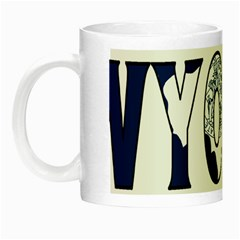 Wyoming Glow in the Dark Mug