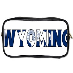 Wyoming Travel Toiletry Bag (One Side)
