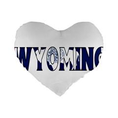 Wyoming 16  Premium Heart Shape Cushion