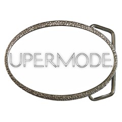 Supermodel2 Belt Buckle (oval)