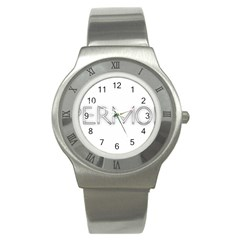 Supermodel2 Stainless Steel Watch (Unisex)