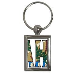Oklahoma Key Chain (Rectangle)