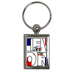 New York Dr Key Chain (rectangle)