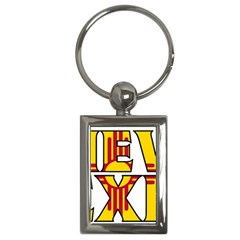 New Mexico Key Chain (rectangle)