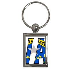 Nevada Key Chain (Rectangle)