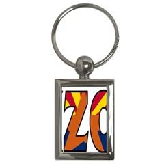 Arizona Key Chain (Rectangle)