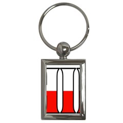 Chile Key Chain (rectangle)
