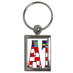 Croatia Key Chain (Rectangle)