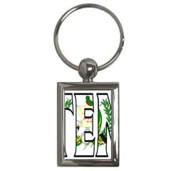 Guatemala Key Chain (Rectangle)