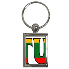 Lithuania Key Chain (Rectangle)