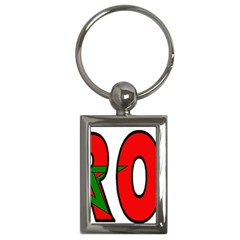 Morocco Key Chain (rectangle)