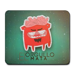 El orgullo mata Large Mouse Pad (Rectangle)