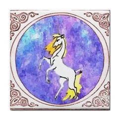Framed Unicorn Ceramic Tile