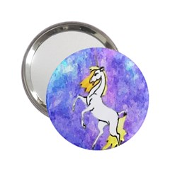 Framed Unicorn Handbag Mirror (2 25 )