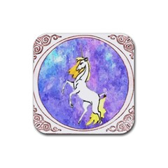 Framed Unicorn Drink Coasters 4 Pack (square)