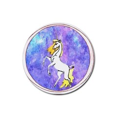 Framed Unicorn Drink Coasters 4 Pack (Round)