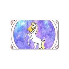 Framed Unicorn Magnet (Name Card)