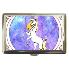 Framed Unicorn Cigarette Money Case