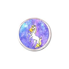 Framed Unicorn Golf Ball Marker 4 Pack