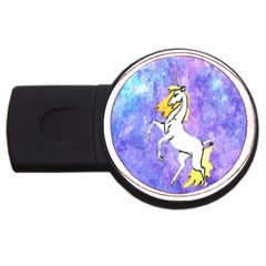 Framed Unicorn 4GB USB Flash Drive (Round)