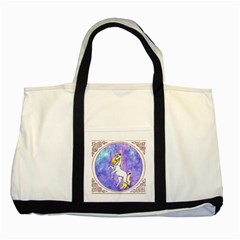 Framed Unicorn Two Toned Tote Bag